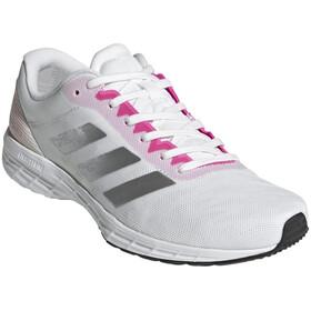 adidas Adizero RC 3 Shoes Women, footwear white/silver metal/screaming pink